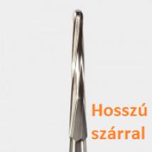 """151L-Z , FG sebészeti karbid fúró """"Zekyra"""" hosszú szárral"""
