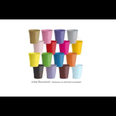 Műanyag pohár, 2dl, több színben