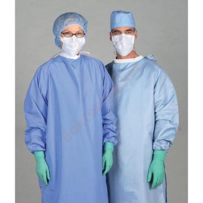 Műtéti védőköpeny  XL méret ( kb 175cm magasságra) Vlies anyagból