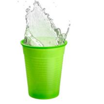 Műanyag pohár, 2dl, színes- avocado zöld