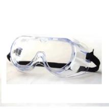 Résmentes védőszemüveg műanyag, transzparens, gumipánttal
