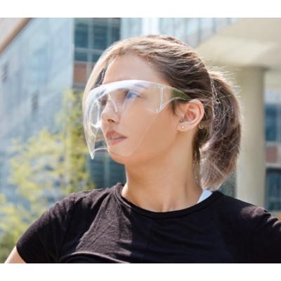 Arcvédő pajzs,szemüveggel,áttetsző 1 db
