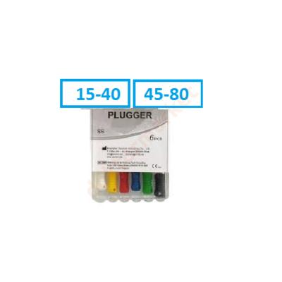Endo Plugger-File, NITI, 6 db-  (25mm)Válasszon méretet!
