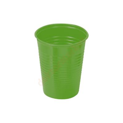 Műanyag pohár, 2dl, színes-  zöld