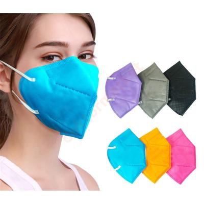 YUNYIFU FFP2 maszk KN95 védelem Több színben  5db