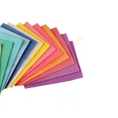 Fogászati nyálkendő , SZALVÉTA  50 DB , Válasszon színeket!
