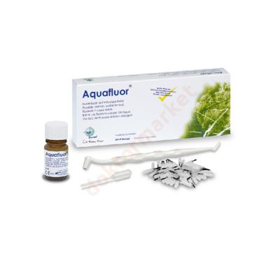 Aquafluor vízbázisú fluorid ecsetelő- gazdaságos 10 ml kiszerelésben